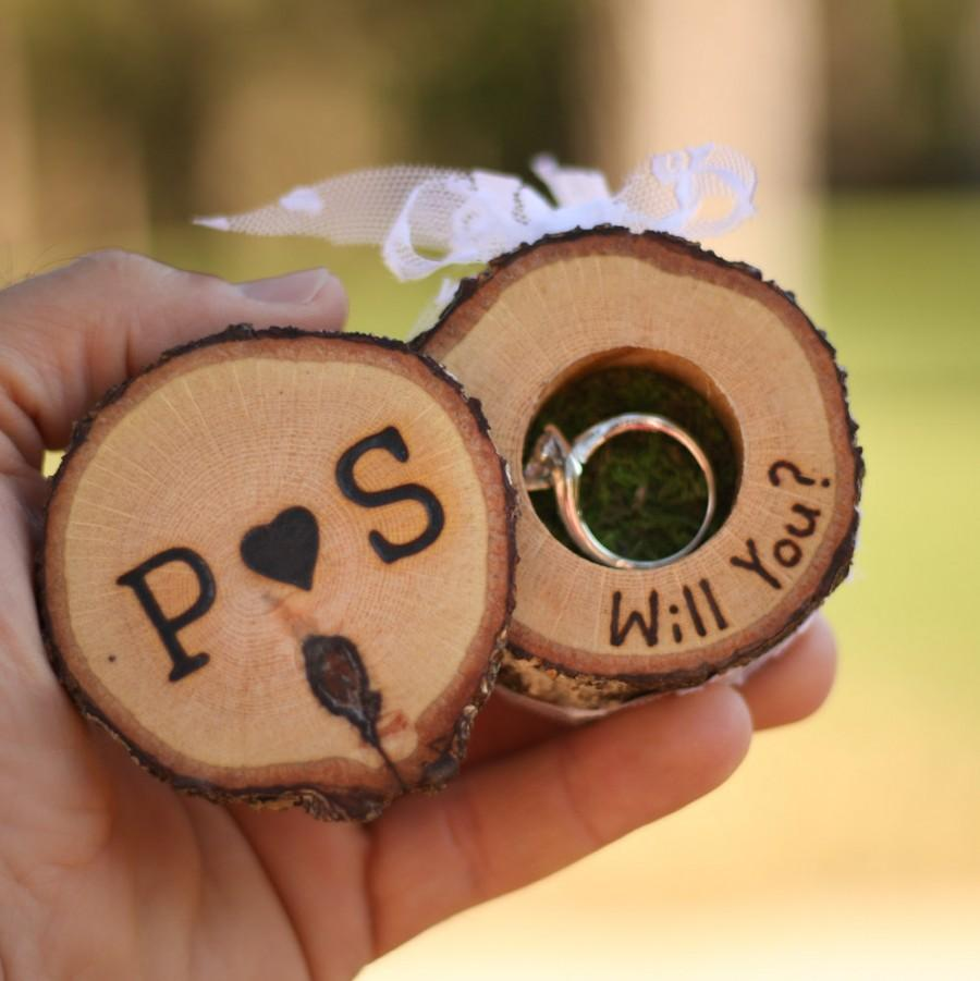Proposal Ring Box Marry Me Proposal Box Groomsmen Proposal Proposal