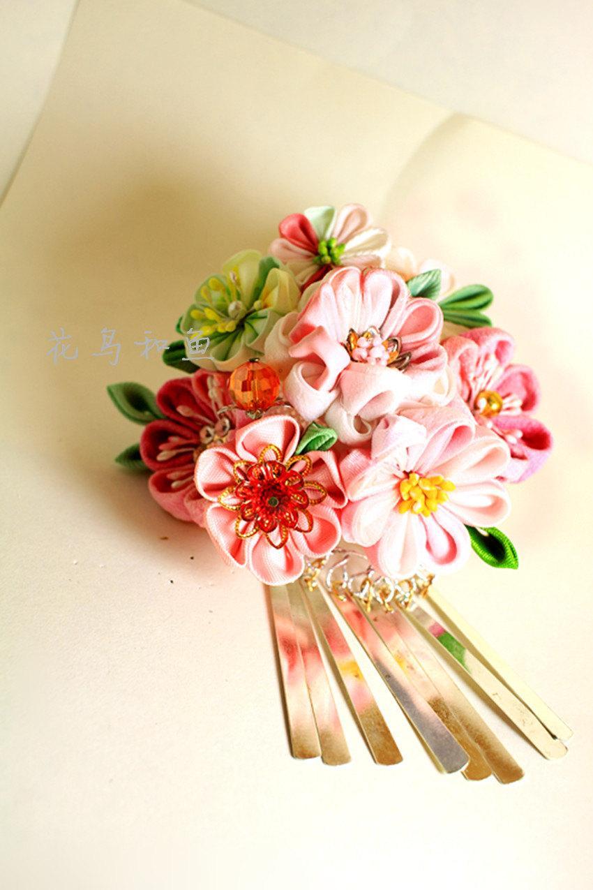 Weddingsaccessorieswedding Hair Flower Pin Pink Bridal Hair Pins