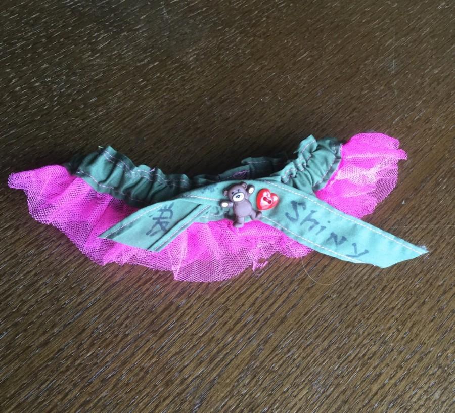 """Свадьба - Firefly Serenity Kaylee Frye Wedding Garter // """"Shiny"""" //"""