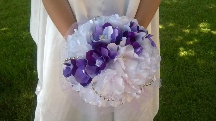 Свадьба - your eternal bouquet of purple bride