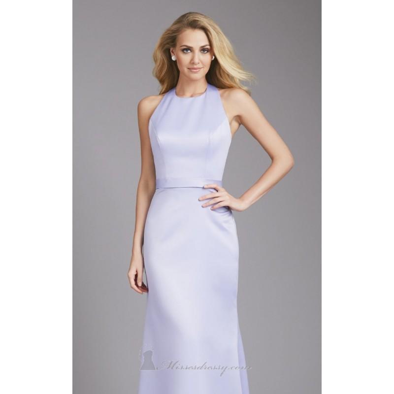 زفاف - 2014 Cheap Open Back Satin Gown by Allure Bridesmaids 1368 Dress - Cheap Discount Evening Gowns