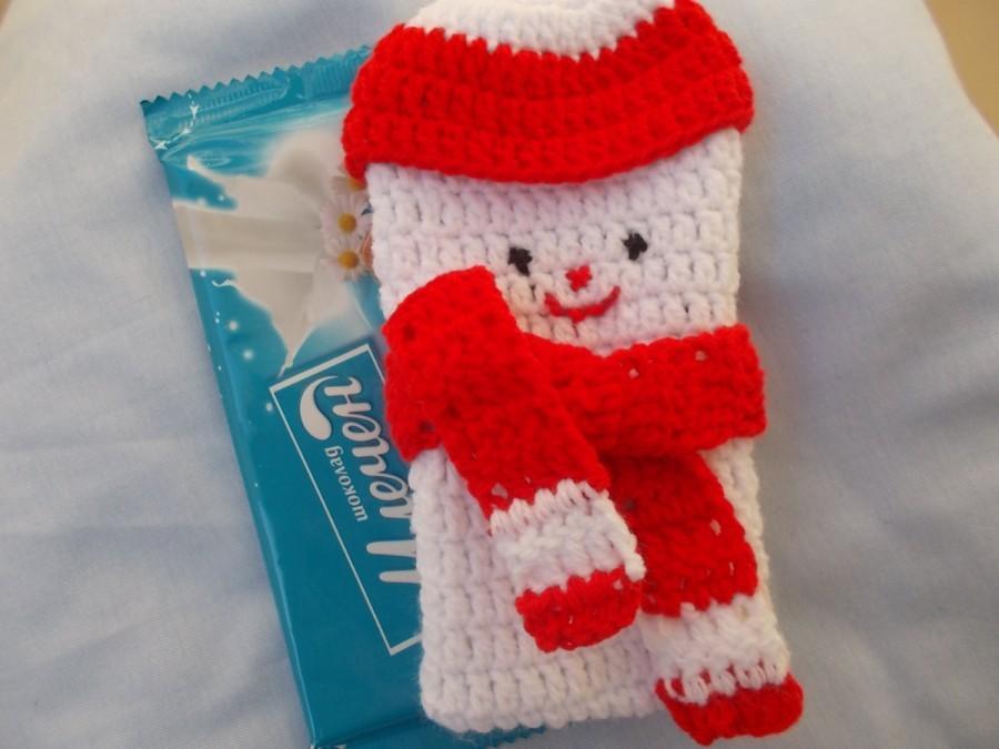 Wedding - CROCHET PATTERN, snowman pattern, Bag Christmas gift, snowman gift bag, christmas pattern, Christmas Crochet Pattern,