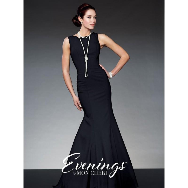 زفاف - Evenings by Mon Cheri TBE21526 Mermaid Dress - Brand Prom Dresses