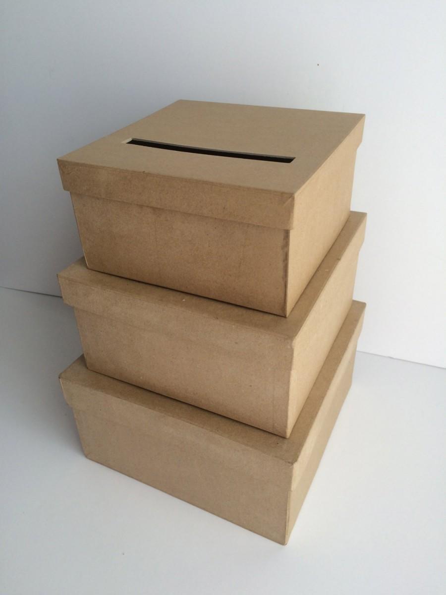 Mariage - DIY Wedding Card Box, Wedding Card Holder, Gift Card Holder