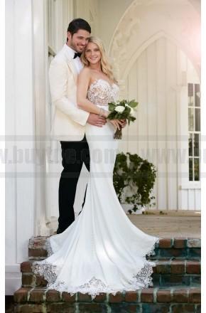 Wedding - Martina Liana illusion Back Wedding Dress Style 775