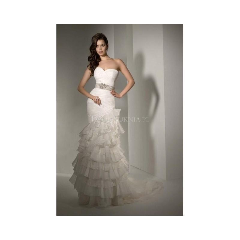 Hochzeit - Pepe Botella - White Over White (2014) - 445 - Formal Bridesmaid Dresses 2016
