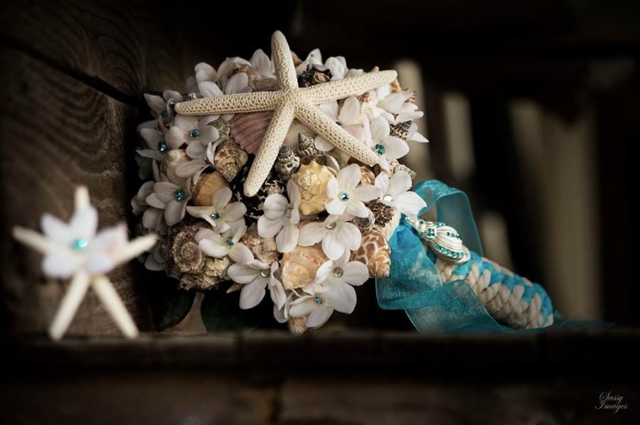 Wedding - Sea Shell Bouquet