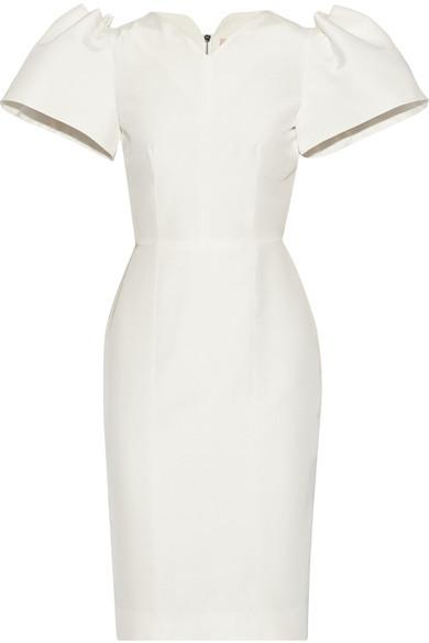 Mariage - Roksanda - Lynton Silk-dupioni Dress - Off-white