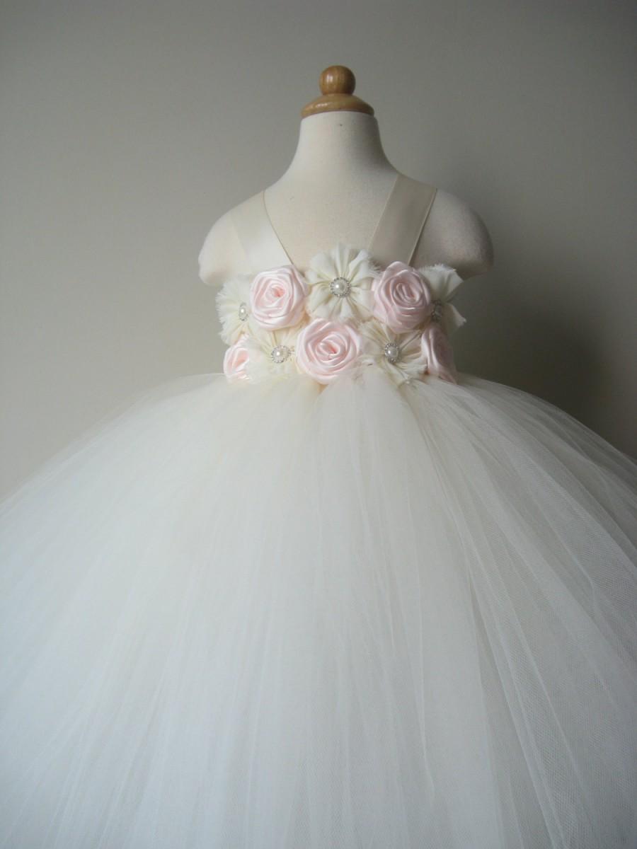 Emejing Flower Girl Tutu Dresses Wedding Images - Styles & Ideas ...