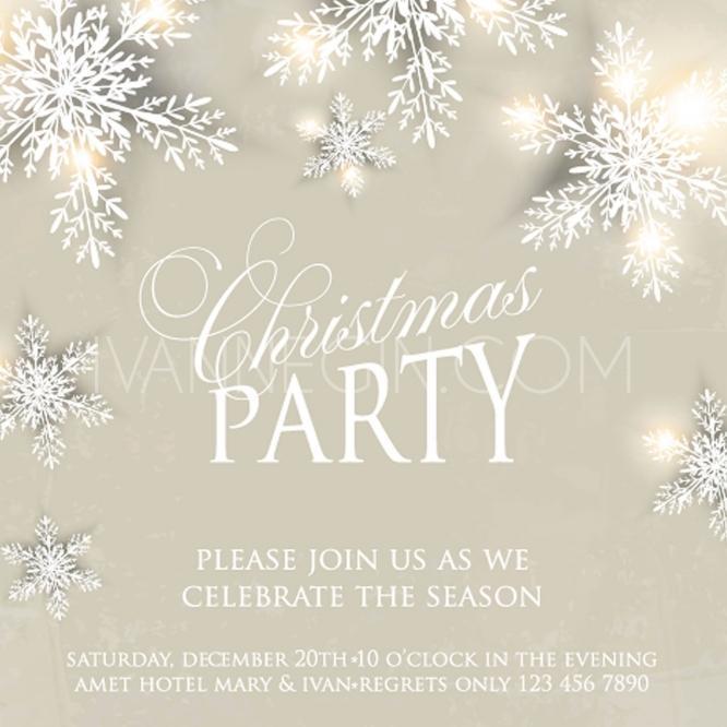 زفاف - Christmas Invitation and Happy New Year Card - Unique vector illustrations, christmas cards, wedding invitations, images and photos by Ivan Negin