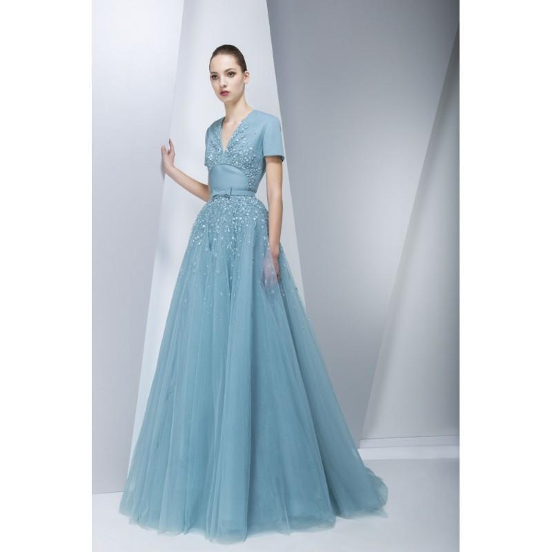 Hochzeit - Georges Hobeika Gh-By-Georges-Hobeika Fall-Winter 15-16 Look 32 -  Designer Wedding Dresses