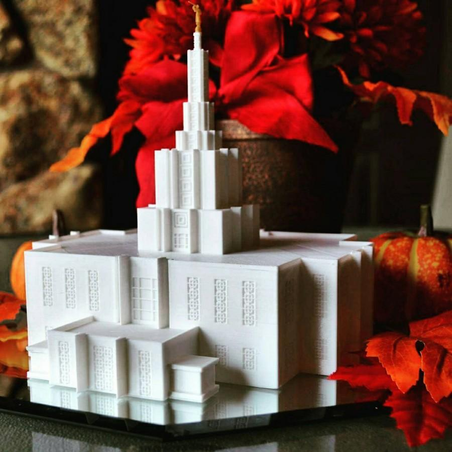 Idaho Falls Temple Model