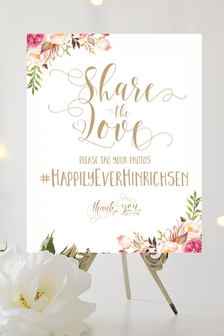 Share the love sign