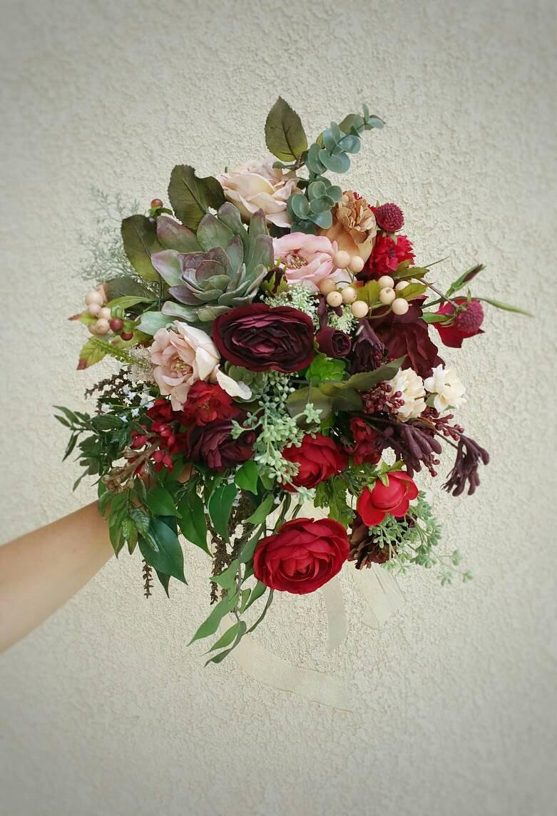 زفاف - Bridal Bouquets, Bridal Bouquet, Wedding Bouquets, Wedding Flowers, Artificial Wedding Bouquet, Bridal Flowers, Silk Flower Bouquet, Flowers