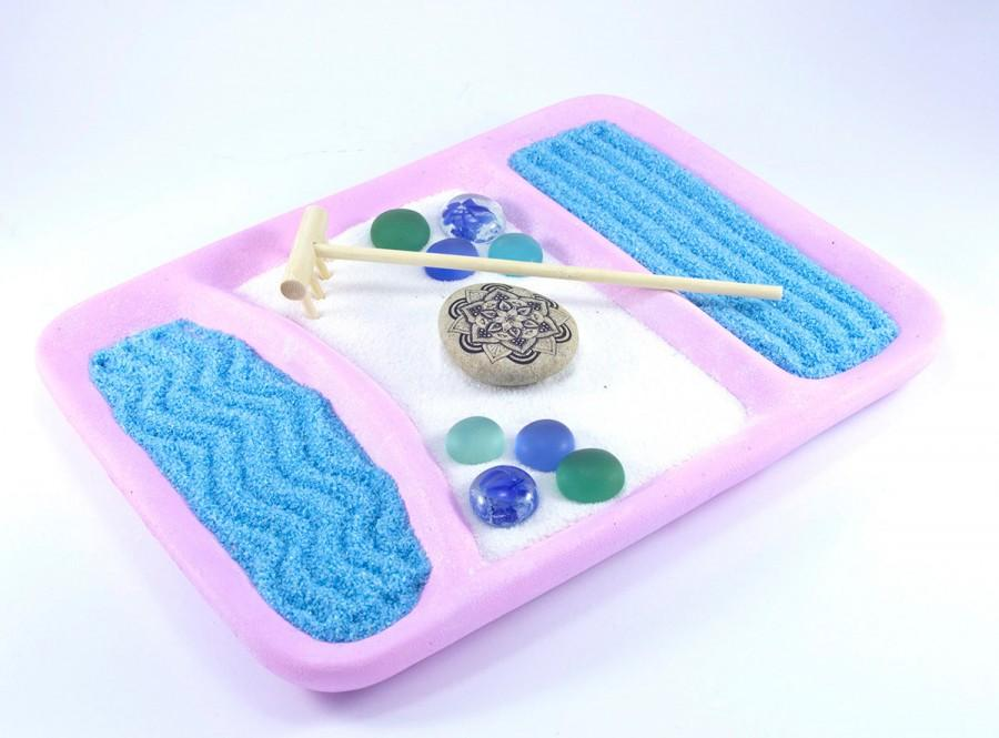 Zen Garden/ DIY Kit For Her/ Mini Zen Garden/ Office Decor/ Gift For Her/  DIY Gift/ For Her/ Yoga Gifts/ Zen Decor/ Office Desk Decor/ DIY