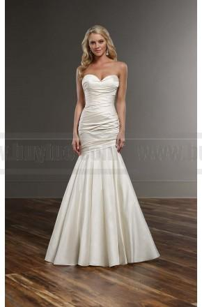 Mariage - Martina Liana Curve Hugging Bridal Gown Style 742
