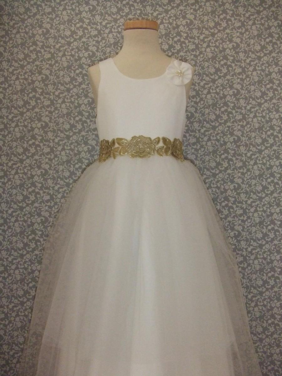 زفاف - White tulle dress