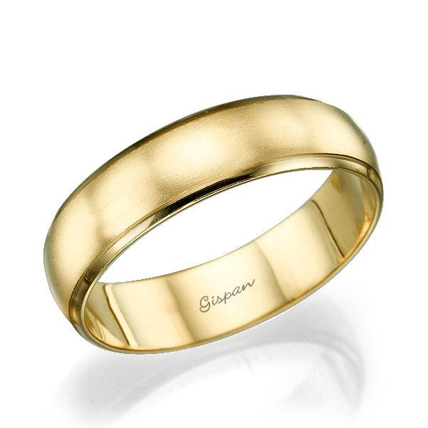 Wedding Band Mens Wedding Band Wedding Ring Mens Ring Matte Ring