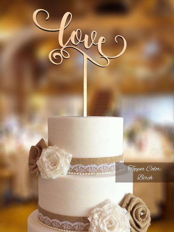 زفاف - Love Cake Topper. Wedding Cake Topper. FNLV02. Rustic Cake Topper. Cake topper wedding. Love cake topper for wedding. Rustic topper.