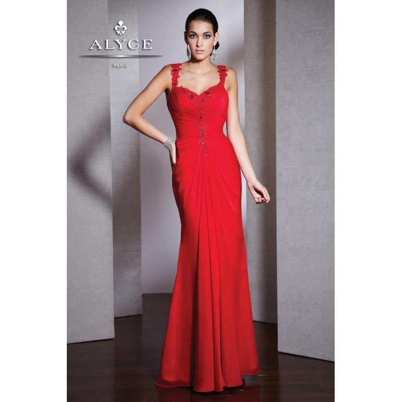 Gorgeous Mermaid Bodice Red Chiffon Ruched Special Floor Length Prom