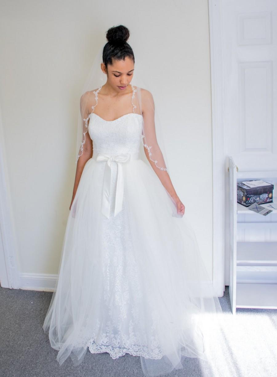 زفاف - Detachable Skirt