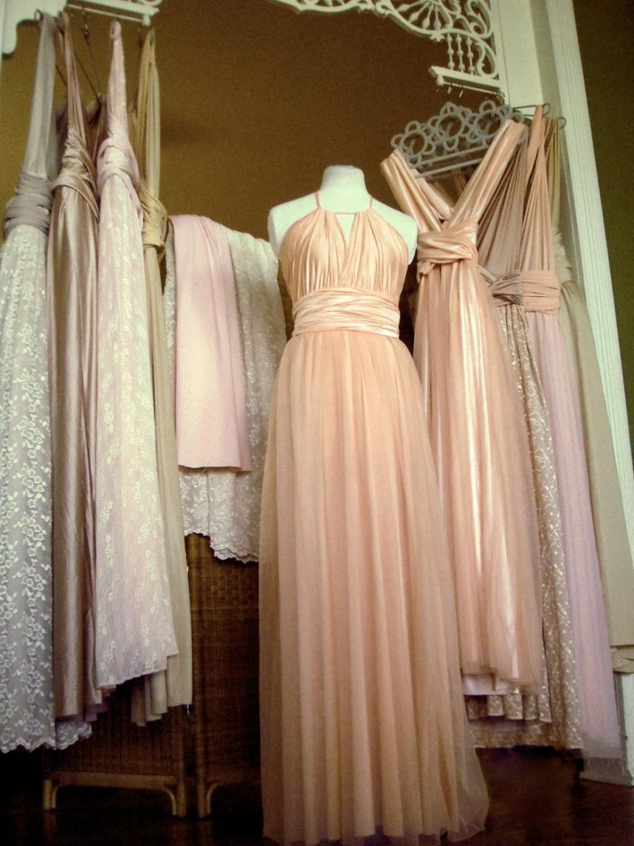 Upscale mismatched multiway bridesmaids dresses any sizelength upscale mismatched multiway bridesmaids dresses any sizelength every convertible dress tailored blush dusty blue rose nude lavender sage ombrellifo Image collections