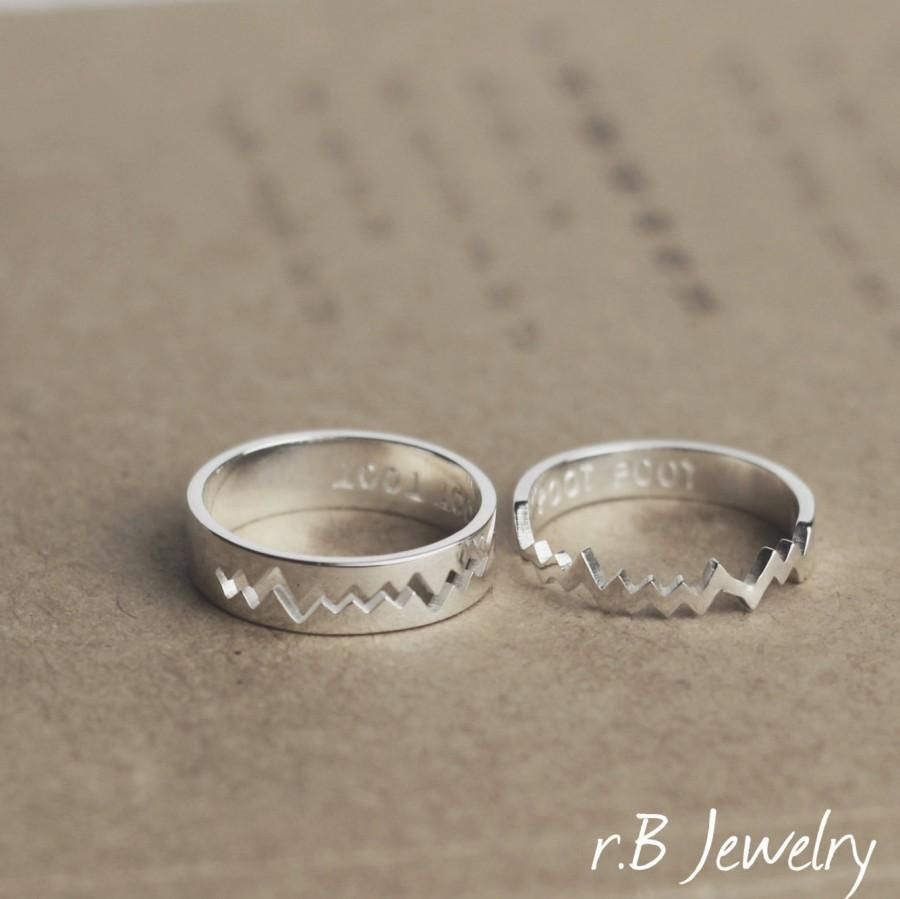 Personalized Couples Rings, Couples Rings Set, Gift For Couples ...