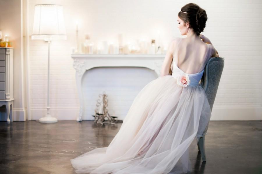 Wedding - The Modern Romance Wedding Dress/Gown Blush/Beige/Champagne/Ivory Tulle