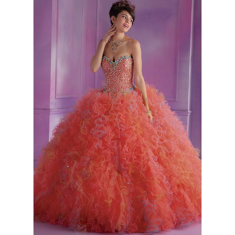 Boda - Mori Lee 89004 Multi Colored Gown - 2016 Spring Trends Dresses