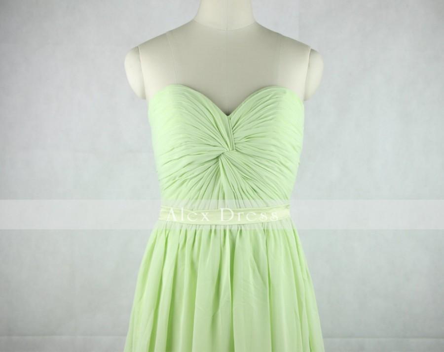 Свадьба - Mint Green Bridesmaid dress Long Prom Dress-Mint Sweetheart Bridesmaid dress