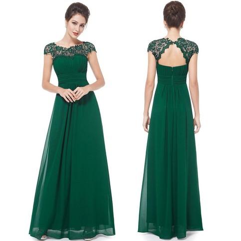 Свадьба - Cheap Olive Green Long Chiffon Bridesmaid Dress Under 100 from Dressywomen