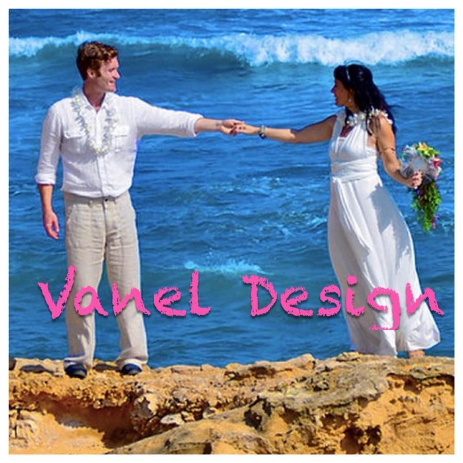 Свадьба - Wedding Gown Convertible Infinity Dress Wrap Style Dress White Ivory Bridal Dress Reception Dress Honeymoon Dress Cruise Dance