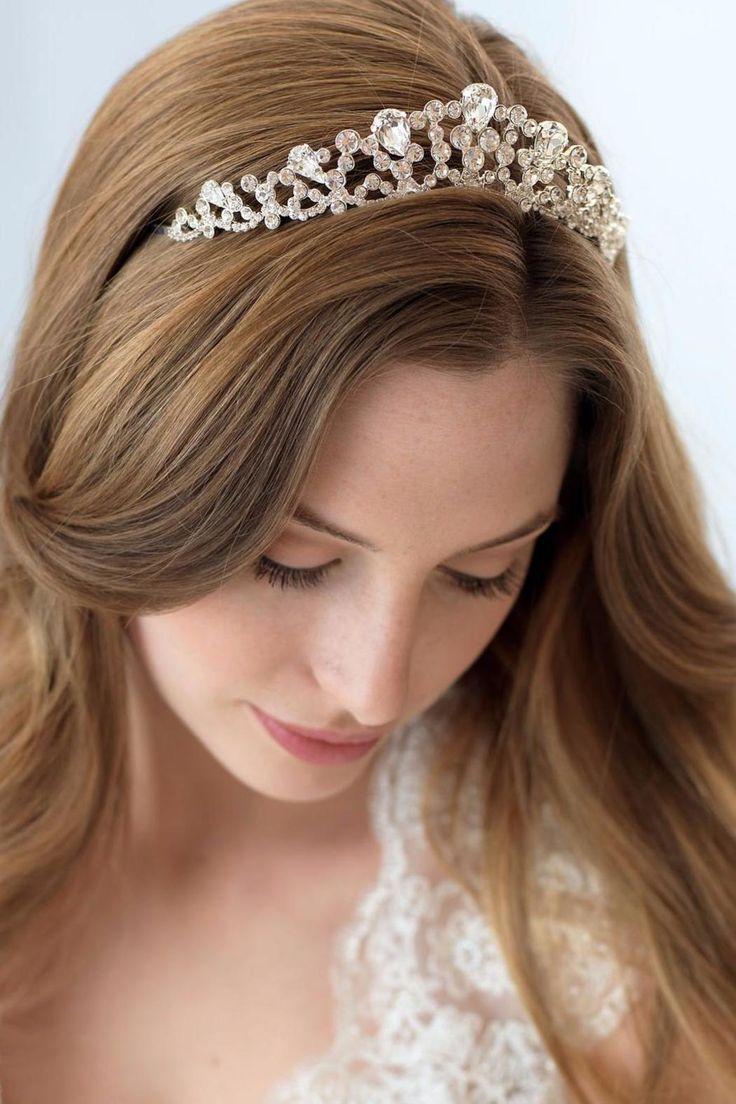 Mariage - Rhinestone Bridal Crown