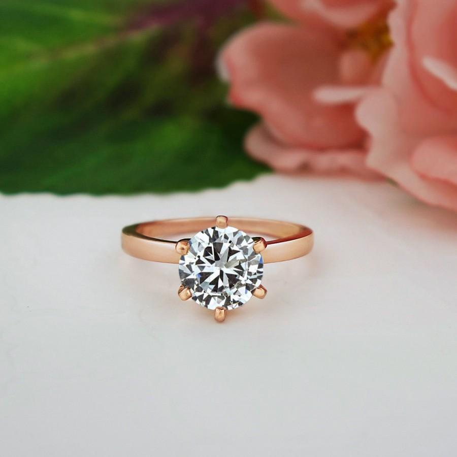 halo sterling classic engagement simulants media anniversary ring gold man made ctw silver diamond oval rose plated wedding