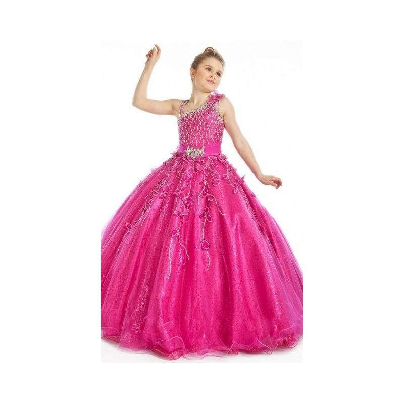 2017 New Arrival Engaging Beads Flower Ball Gown One Shoulder