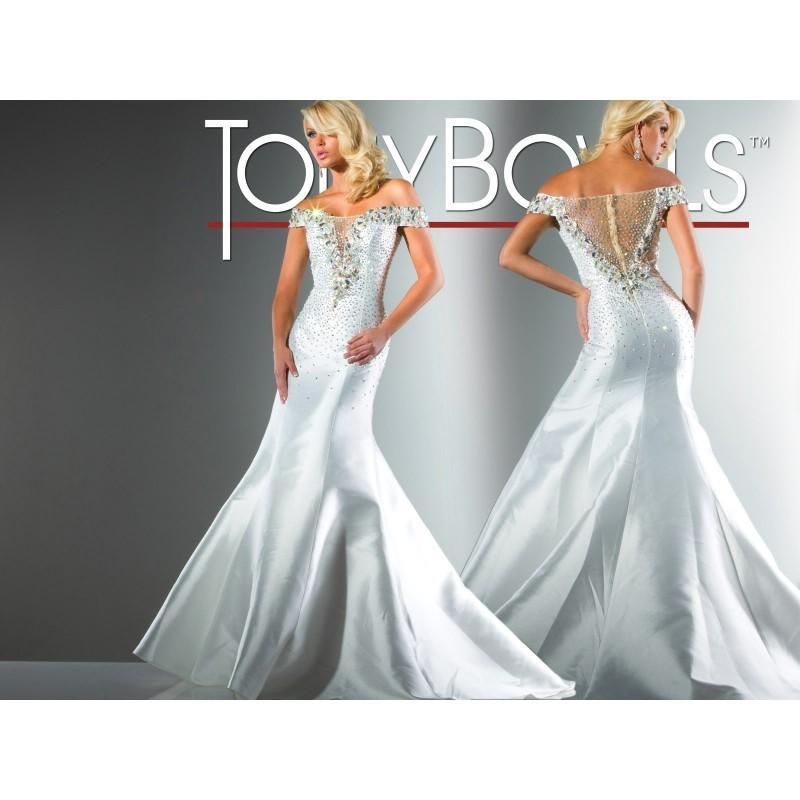 Mariage - Tony Bowls Collection - Style 113C28 - Formal Day Dresses