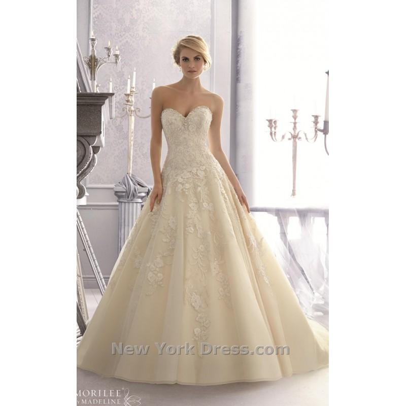 Boda - Mori Lee 2671 - Charming Wedding Party Dresses