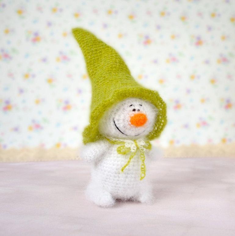 Amigurumi Snowman Free Pattern | 773x770