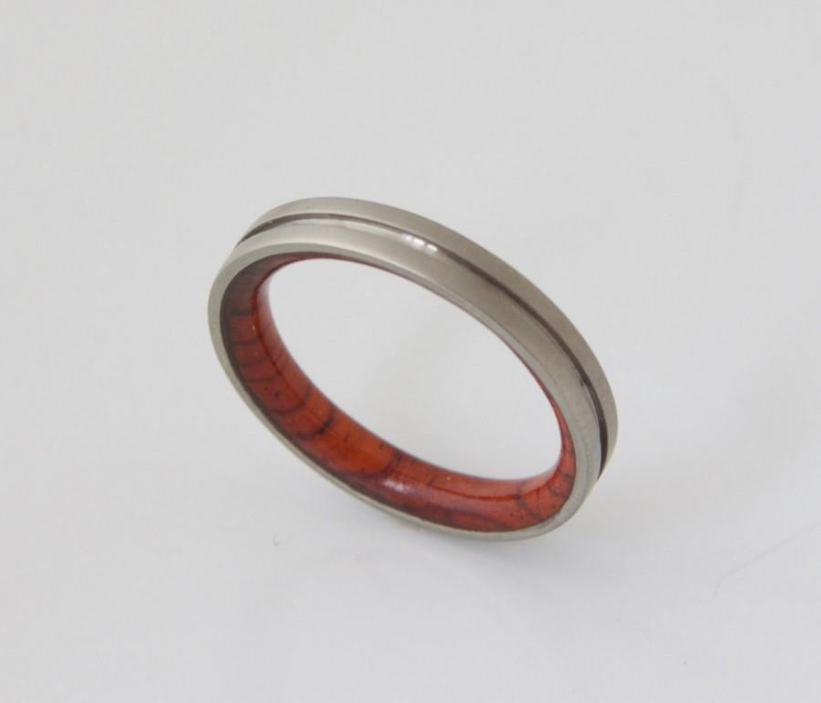 Mariage - Unique Cocobolo Wood Ring, Jewelry, Ring, Wood Jewelry, Wedding, Wedding Band, Alternative Engagement Ring, Him, Men, Mens Gift 10.5 stock