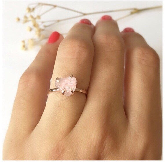 diamond thumb ideas tag quartz ring rings wedding peach collections