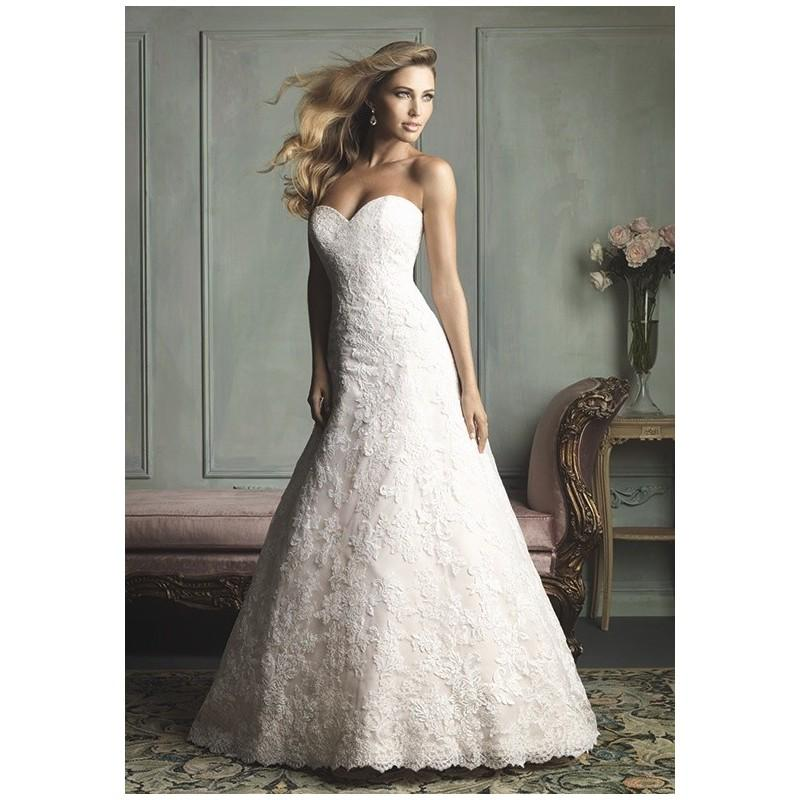 Allure bridals 9109 charming custom made dresses for Cheap allure wedding dresses