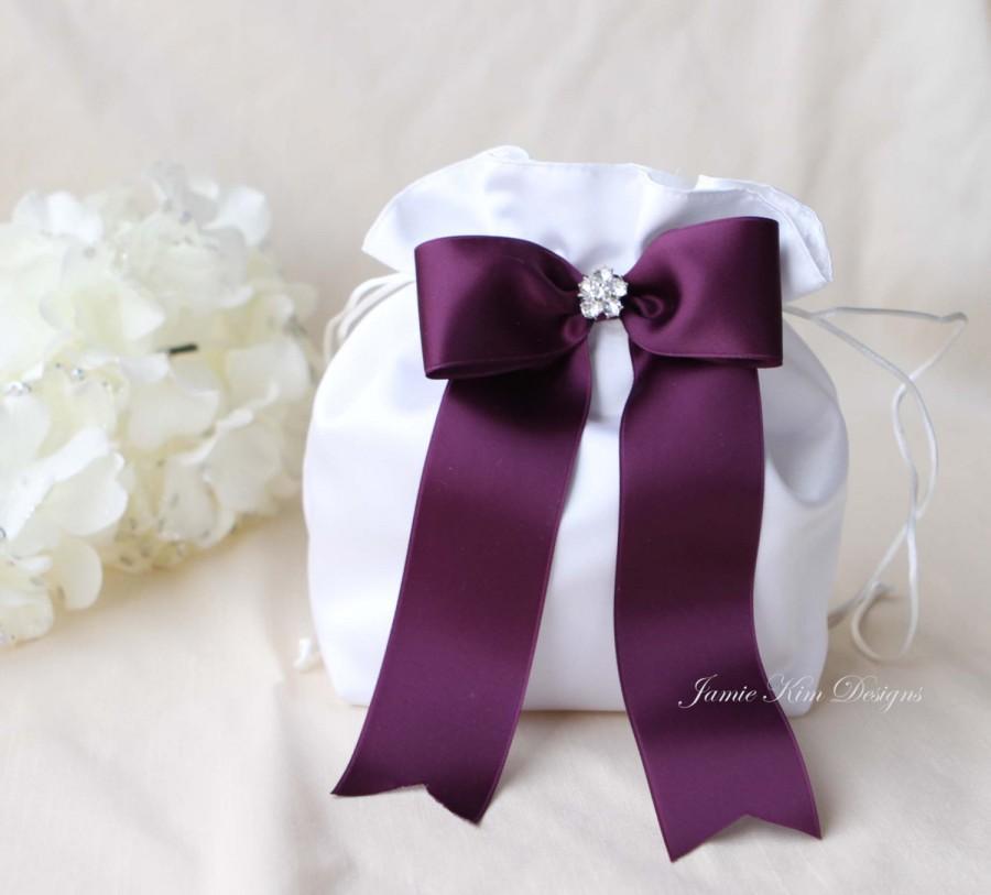 Свадьба - Wedding Dollar Dance Bag, Wedding Money Bag, Bride Money Bag