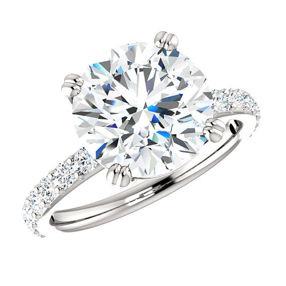 Moissanite Rings Los Angeles San Diego Vegas Jewelry Stores