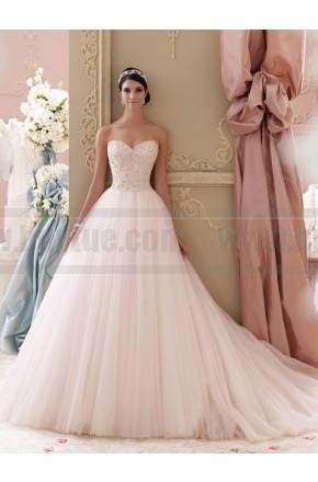 Wedding - David Tutera For Mon Cheri 115250-Luca Wedding Dress