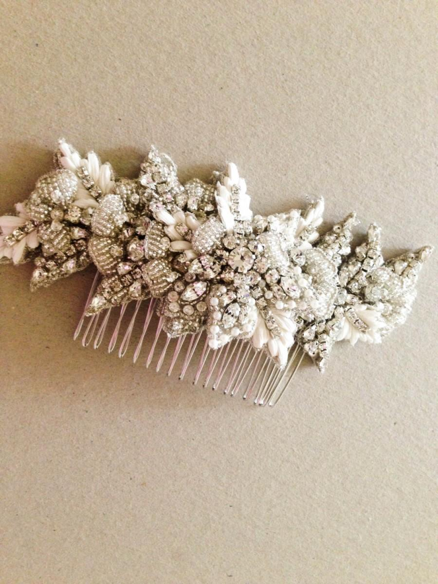 Mariage - Bridal Hair Comb Zulu ( Made to Order)
