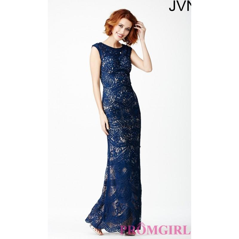 Свадьба - Floor Length Embroidered Gown JVN27626 from JVN by Jovani - Discount Evening Dresses