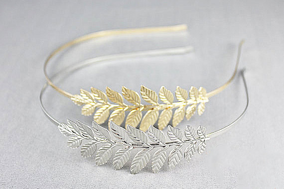 Hochzeit - Headband bridal-style Bohemian - accessories hair bridal hair accessories-head band leaves headband leaves - jewelry wedding - Sarah likes