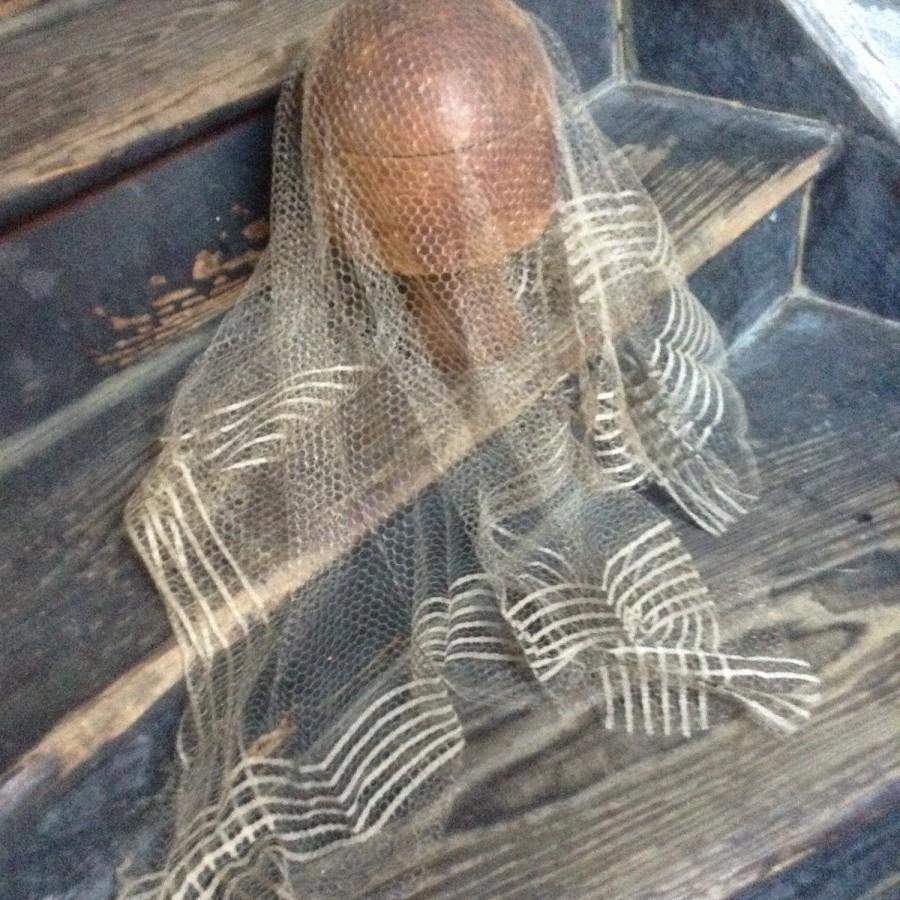 Hochzeit - vintage veil-edwardian-bridal