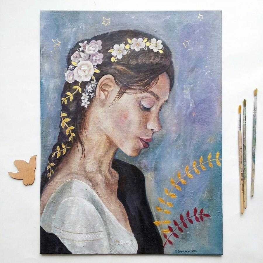 Hochzeit - Acrylic portrait