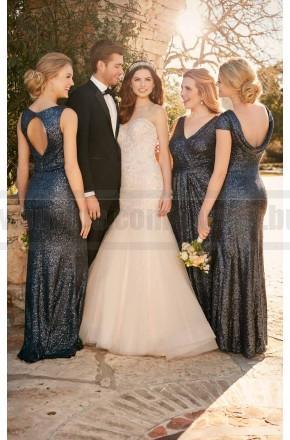Свадьба - Essense Of Australia Fit And Flare Wedding Dress With Tulle Skirt Style D2195